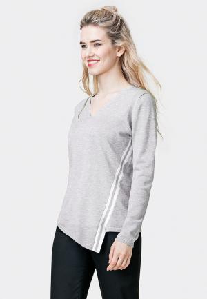 Пуловер Pompa. Цвет: серый