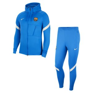 Мужской футбольный костюм Dri-FIT FC Barcelona Strike - Синий Nike