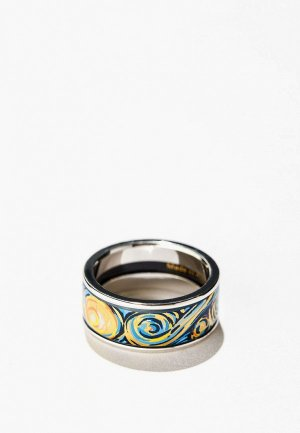 Кольцо Freywille Hommage a Vincent Van Gogh. Цвет: разноцветный