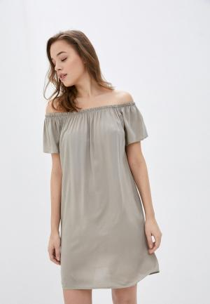 Платье Fresh Made. Цвет: серый