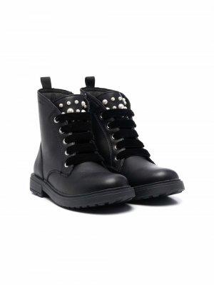 Ботинки Eclair Geox Kids. Цвет: черный