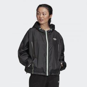 Ветровка R.Y.V. Originals adidas. Цвет: черный