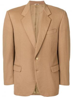 Пиджак с заостренными лацканами Pierre Cardin Pre-Owned. Цвет: нейтральные цвета