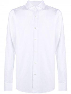 Рубашка с длинными рукавами Boss Hugo. Цвет: белый