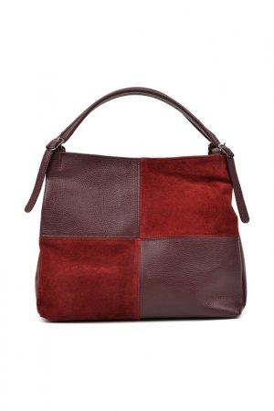 Handbag CARLA FERRERI. Цвет: bordeaux
