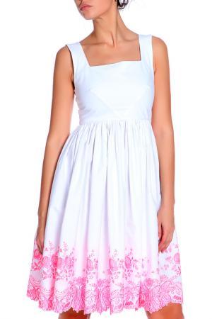 Платье Анна Чапман. Цвет: белый