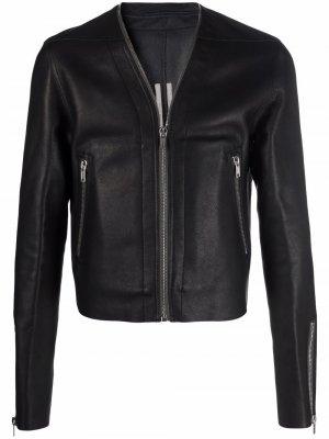 Укороченная куртка Rick Owens. Цвет: черный