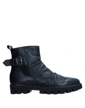 Полусапоги и высокие ботинки ALBERTO BRESSAN. Цвет: черный