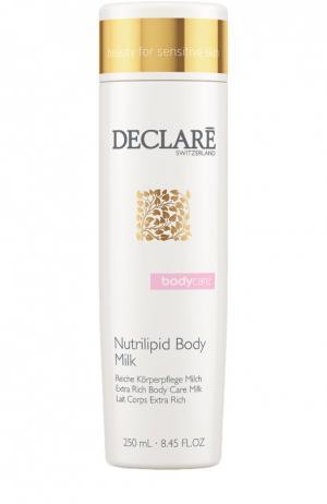 Питательное молочко для тела Nutrilipid Body Milk Declare. Цвет: бесцветный