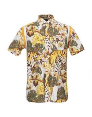 Pубашка FRANKLIN & MARSHALL. Цвет: светло-желтый