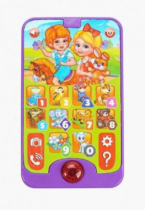 Игрушка интерактивная Умка «Смартфончик-телефончик». Цвет: разноцветный