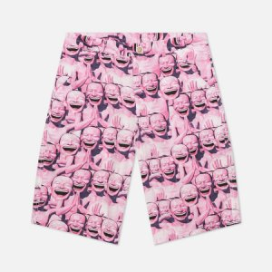 Мужские шорты x Yue Minjun All Over Print Comme des Garcons SHIRT. Цвет: розовый