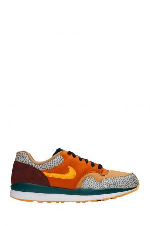 Разноцветные кроссовки Air Safari SE Nike. Цвет: оранжевый