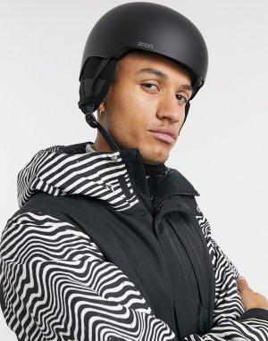 Черный горнолыжный шлем Raider 3 Anon