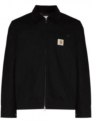 Куртка Detroit на молнии с нашивкой-логотипом Carhartt WIP. Цвет: черный