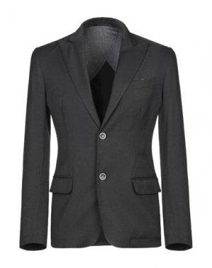 Пиджак 26.7 TWENTYSIXSEVEN. Цвет: свинцово-серый