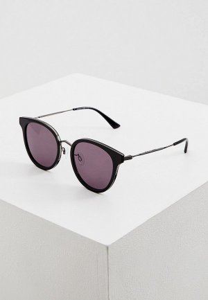 Очки солнцезащитные McQ Alexander McQueen MQ0278SA. Цвет: черный