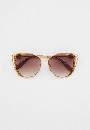 Очки солнцезащитные Baldinini BLD 2133 MF 301. Цвет: золотой
