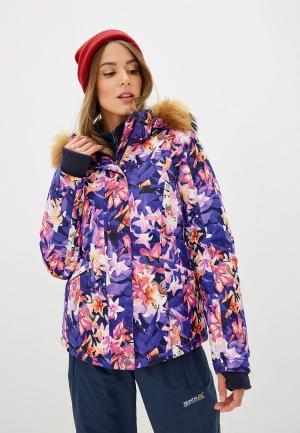 Куртка горнолыжная Baon. Цвет: фиолетовый