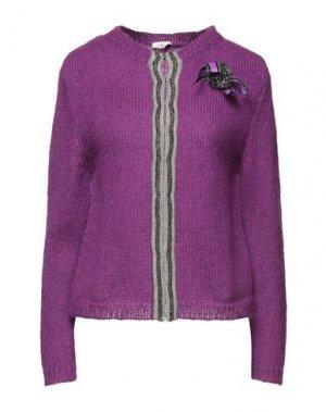 Кардиган EMMA & GAIA. Цвет: фиолетовый