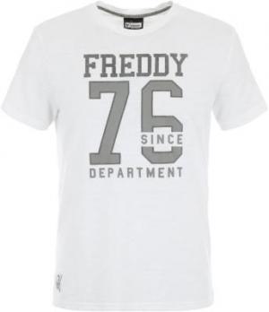 Футболка мужская Training, размер 48-50 Freddy. Цвет: белый