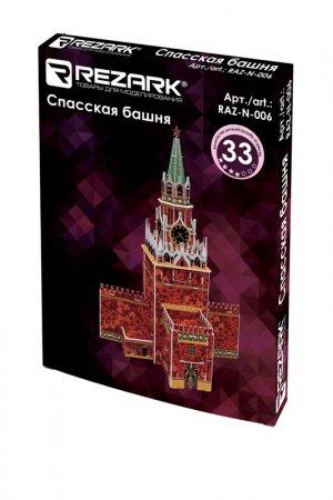 Спасская башня REZARK. Цвет: мультиколор