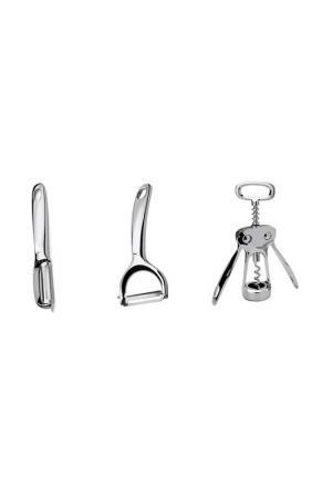 Набор кухонной утвари, 3 пр APOLLO Genio. Цвет: стальной