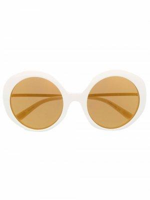 Солнцезащитные очки Jackie 60 Christian Roth. Цвет: белый