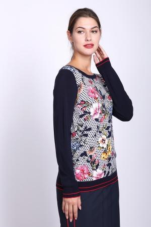 Пуловер Taifun. Цвет: разноцветный