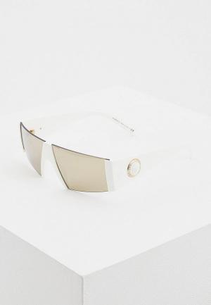 Очки солнцезащитные Versace VE4360 401/5A. Цвет: белый