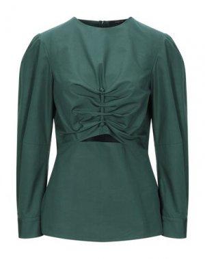 Блузка DEREK LAM. Цвет: зеленый