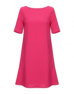 Короткое платье KAOS. Цвет: фуксия