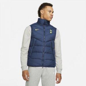 Мужской жилет с пуховым наполнителем Tottenham Hotspur Windrunner - Синий Nike