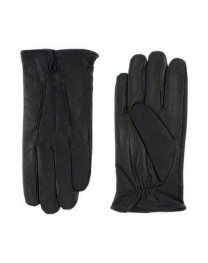 Перчатки MICHAEL KORS MENS. Цвет: черный