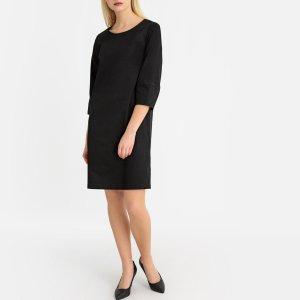 Платье-футляр LaRedoute. Цвет: черный