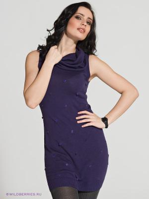 Платье Le monada. Цвет: фиолетовый