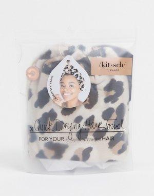 Полотенце для волос из микрофибры Kitsch