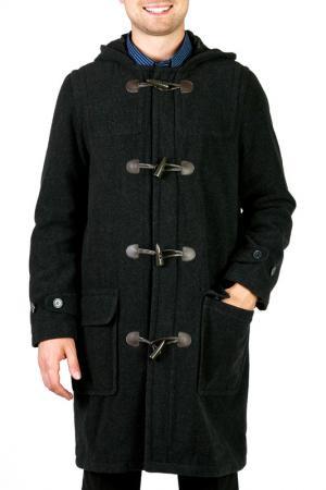 Пальто KAISER. Цвет: серый