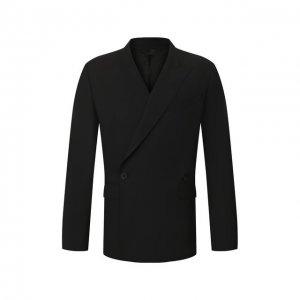 Шерстяной пиджак Givenchy. Цвет: чёрный