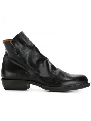 Ботинки на молнии Fiorentini + Baker. Цвет: черный