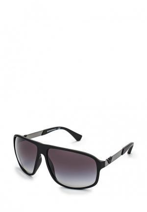 Очки солнцезащитные Emporio Armani EA4029 50638G. Цвет: черный