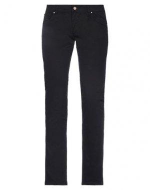 Повседневные брюки BLUEFEEL by FRACOMINA. Цвет: черный