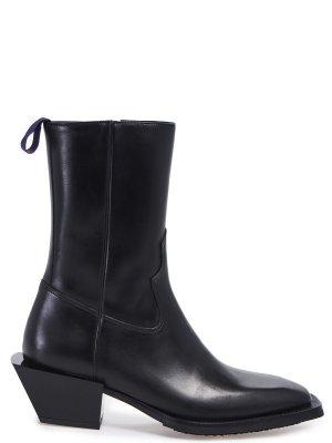 Ботинки EYTYS. Цвет: черный