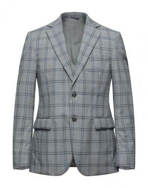 Пиджак TOMBOLINI. Цвет: светло-серый