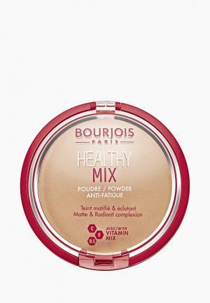 Пудра Bourjois Healthy Mix, 4 Light bronze, 11 гр. Цвет: прозрачный
