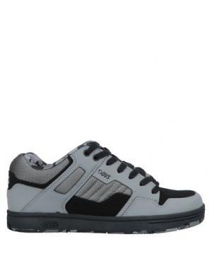 Низкие кеды и кроссовки DVS SHOE COMPANY. Цвет: серый