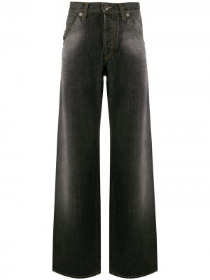 Широкие джинсы 1990-х годов Gianfranco Ferré Pre-Owned. Цвет: серый
