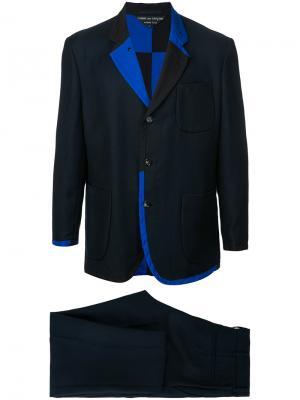 Двусторонний костюм Comme Des Garçons Pre-Owned. Цвет: синий