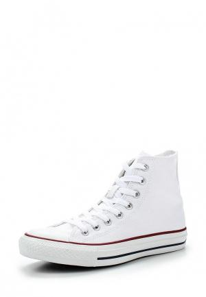 Кеды Converse ALL STAR HI OPTICAL WHITE. Цвет: белый