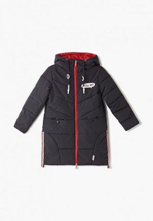 Куртка утепленная Boom. Цвет: черный